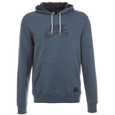 Nike SB Foundation Icon Kapuzenpullover blau mit Gutschein 27,96 € - Outfitter.de