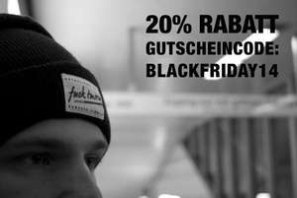 20% Rabatt beim Streetwear Label fuck tmrrw