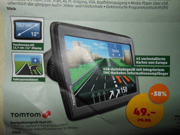 TOMTOM Start 25 Navigationsgerät ab 02.12. PENNY, DD , Marienberger Str.