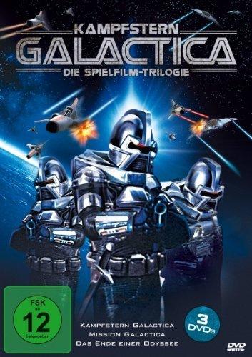 [Amazon Prime] Kampfstern Galactica - Die Spielfilm-Trilogie (3 DVDs) für 14,97€ minus 10% Qipu!
