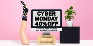 [happysocks] Cyper Montag 40% Off
