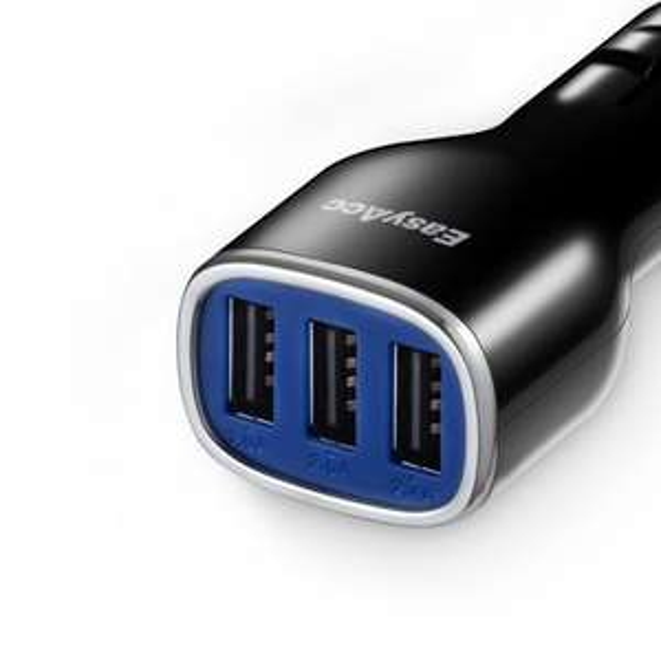 [Amazon] - 3€ auf EasyAcc® 24W 4.8A 3-Port USB Autoladegerät