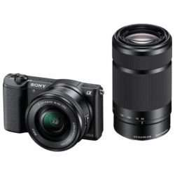 Sony Alpha 5100 Kit 16-50 mm + 55-210 mm für 585,45€ @Amazon.fr
