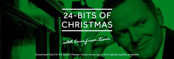 Linn's 24-BITS OF CHRISTMAS - Jeden Tag einen 24-bit Studio Master Track kostenlos.
