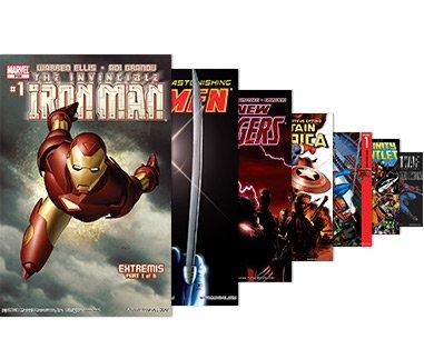 Marvel Unlimited (Flatrate wie Netflix für Comics) 1 Monat für 60cent @Cyber Monday
