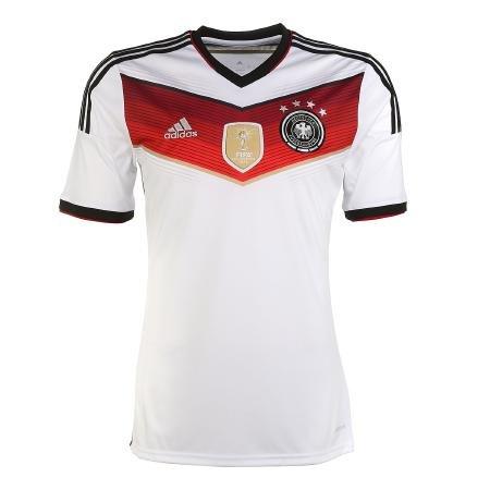 adidas DFB Home WM Trikot für Herren mit 4 Sternen [vaola]