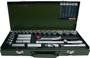 """Proxxon Industrial Steckschlüsselsatz 12,5 mm (1/2"""") 29tlg. 23 000 für 36,35€"""