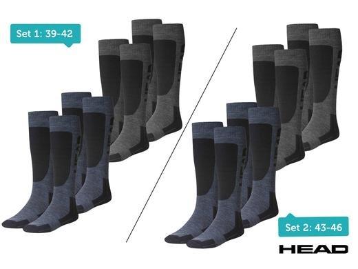 4er-Pack Skisocken von HEAD (Größen 39-42 / 43-46) für 19,95€ zzgl. 5,95€ Versand @iBOOD