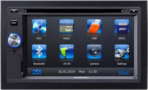 Blaupunkt [3% Qipu + 10€ Gutschein] San Diego 530 - 2-DIN Navigation mit Touchscreen / Bluetooth / TMC / USB / iPod / DVD / 3D für 389,99€ frei Haus @DC