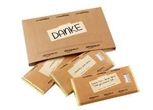 """Heilemann """"Danke, lieber Nachbar"""" Schokoladen-Päckchen gratis zur Amazon Bestellung"""