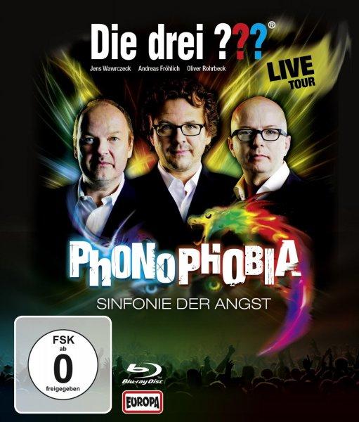 [Weltbild] Die drei ??? - Phonophobia - Sinfonie der Angst / Live Tour 2014 [Blu-ray] 16€ ***+ 10€ Gratisartikel nach Wahl (auch Bücher)*** bitte lesen!!!