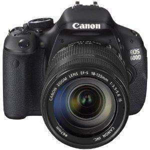 AMAZON WHD: Canon EOS 600D SLR-Digitalkamera (18 Megapixel, 7,6 cm (3 Zoll) schwenkbares Display, Full HD) Kit inkl. EF-S 18-135mm 1:3,5-5,6 IS