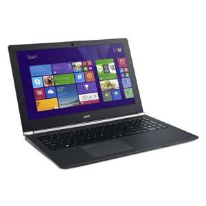 Acer Aspire VN7-591G-590D Notebook (Core i5, GTX 860M, SSD+HDD,...) Windows 8.1 + Tasche & Maus für 829 € @ Cyberport