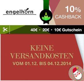 Qipu 10% Cashback und 20% sofort bei 50/100/200 MBW Engelhorn