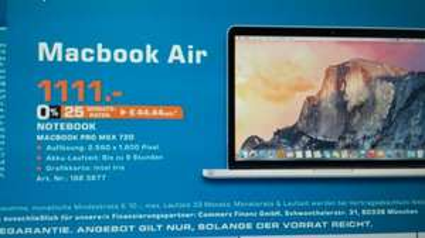 Apple MacBook Saturn Siegburg