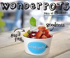 [Lokal in Berlin] 10 x Frozen Yogurt inklusive Toppings nach Wahl bei Wonderpots @ DailyDeal