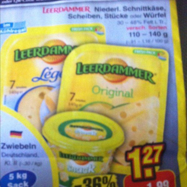 Netto - Samstagskracher LEERDAMMER 1,27€