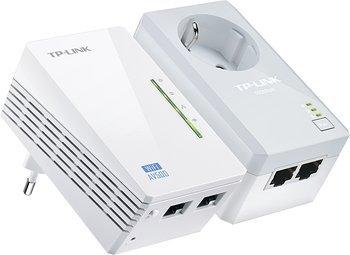 [Amazon/Saturn]TP-Link TL-WPA4226KIT WLAN Powerline-Netzwerkadapter  / AV500-300Mbit/s-WLAN-Powerline-Extender Kit mit Frontsteckdose