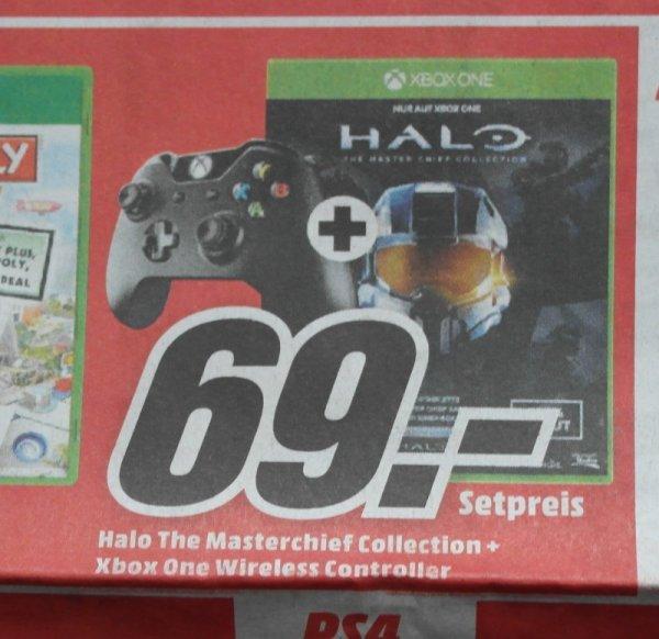 Halo Master Chief Collection + Xbox One Controller für 69€ bei Media Markt