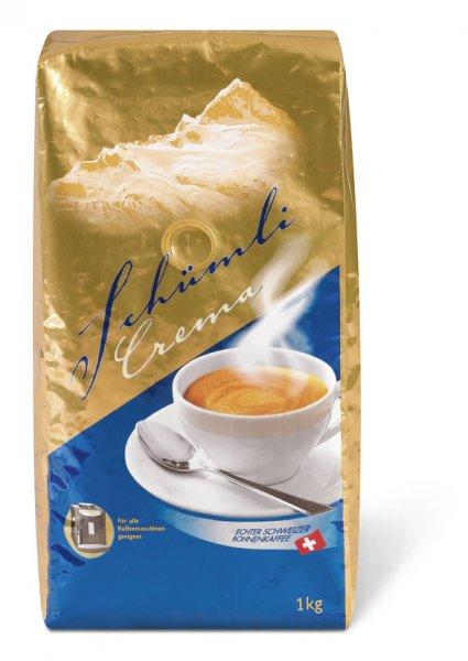 WAHNSINN! 1 Kg Kaffe Schümli Crema Bohnen + z.B. Appenzeller Biberli für 5,04€ inkl. Versand  @MIGROS