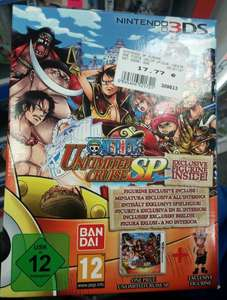 (Lokal Expert Müller Hallstadt) One Piece: Unlimited Cruise SP - Limited Edition (3DS) für 17,77 €
