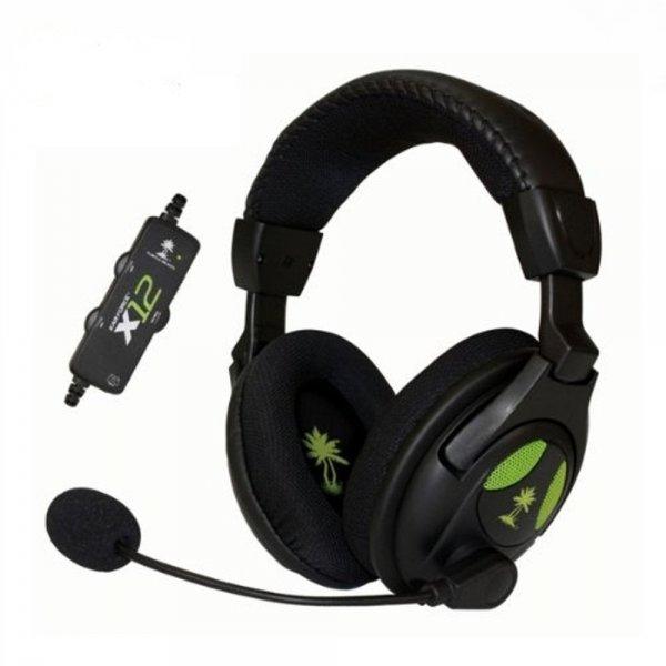 Turtle Beach Ear Force X12 (XBox 360, PC) Headset für 32,51€ @Amazon.es