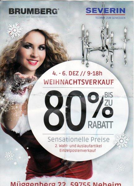 [Lokal Arnsberg] Bis zu 80% auf Severin und Brumberg