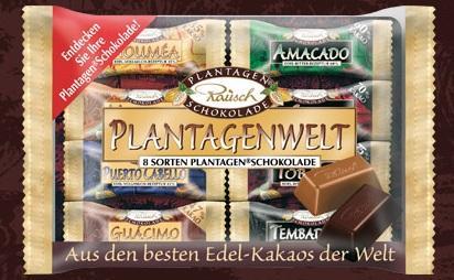 Rausch Plantagen Schokolade (8 Sorten)