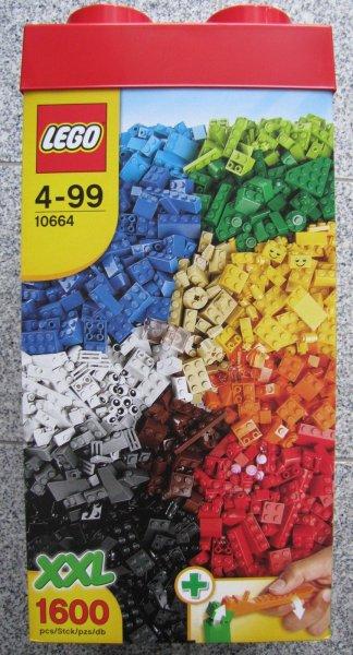 [Metro] Lego Steinebox rot 1600 XXL Steine + Steintrenner