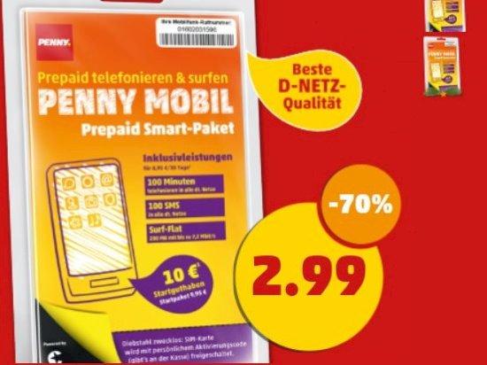 [bundesweit Penny] Pennymobil Starterpaket für 2,99€