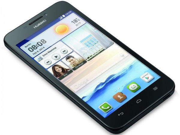 Huawei Ascend G630 Smartphone (12,7 cm (5 Zoll) Display, 1,2-GHz-Quad-Core-Prozessor, 1GB RAM, 8-Megapixel-Kamera, Android 4.3 für 103,50€ bei Conrad versandkostenfrei