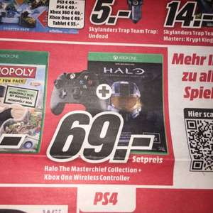 "Xbox One Controller + Halo Master Chef Collection ""Bundesweit"""
