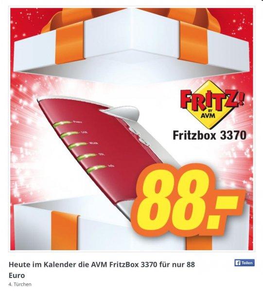 88 Euro FritzBox 3370 [lokal] im expert Elektroland Heidenheim