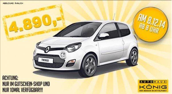Renault Twingo 1.2 16V -  halbwegs mit Ausstattung - nur 10 mal verfügbar!