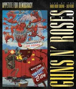 [Amazon Prime] Guns N' Roses - Appetite For Democracy: Live At The Hard Rock Casino - Las Vegas - Blu-ray + 2CD-Boxset für 22,32€