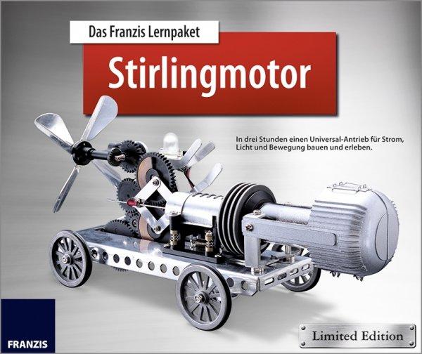 Stirlingmotor selber basteln von Franzis.