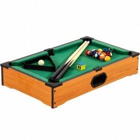 Mini Billardtisch + Zubehör, 51x31x10cm Pool Billiard