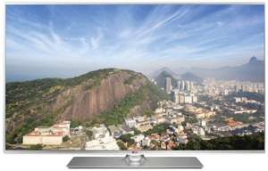 LG 55LB580V 139 cm (55 Zoll) LED-Backlight-Fernseher, EEK A+ (Full HD, 100Hz MCI, DVB-T/C/S, CI+, Wireless-LAN, Smart TV) silber