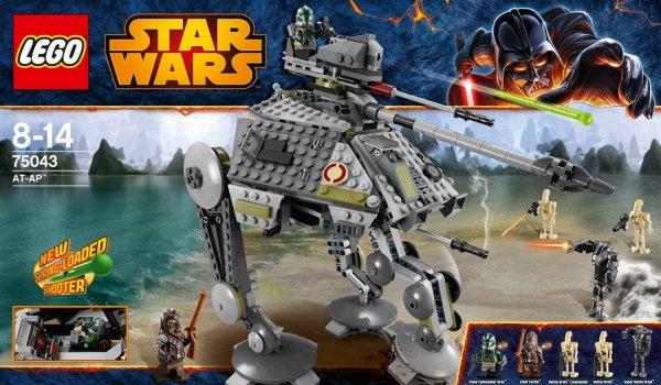 LEGO Star Wars 75043 AT-AP (auch günstig 75044 Droid Tri-fighter) @mueller.de