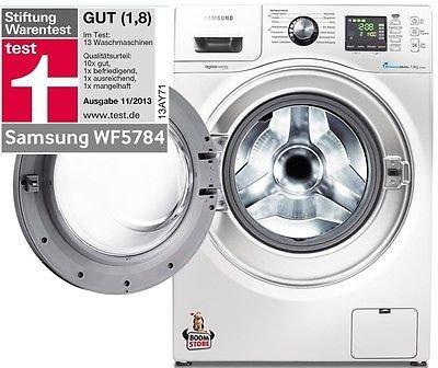 Samsung Waschmaschine WF 57846 für 399 inkl. VSK bei Ebay