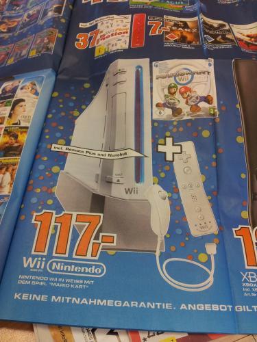 Saturn (Oldenburg) Nintendo Wii + Mario Kart Wii - 117€ LOKAL!
