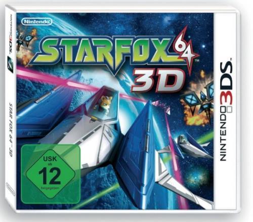 Starfox 64 3DS für 35,95€ inkl. Versand bei buch.de