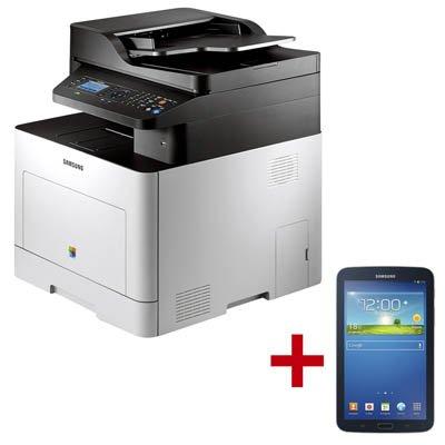 SAMSUNG CLX-6260FD Farblaser-Multifunktionsdrucker + GRATIS Galaxy Tab 3 7.0 / WiFi