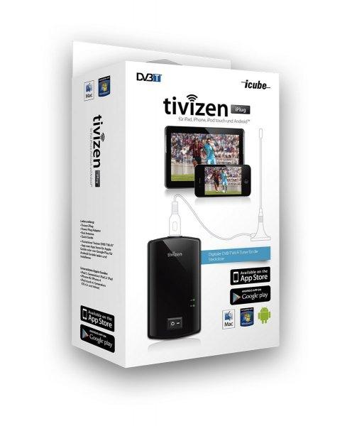 [MeinPaket] iCube tivizen iPlug DVB-T Wi-Fi TV-Empfänger für 29,90€