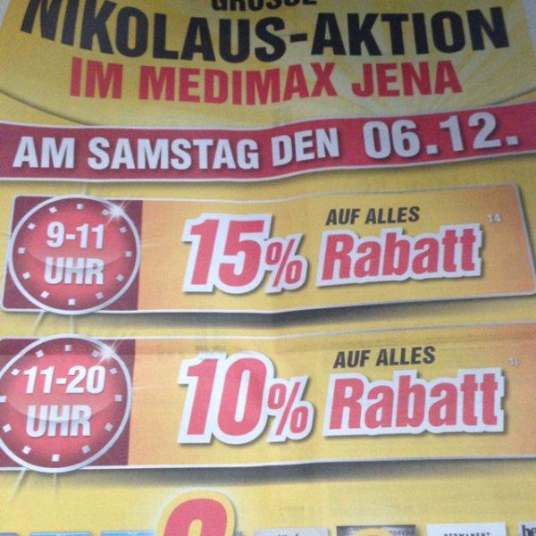 [lokal Medimax Jena] IPad Air 16gb für 330,65 (nur am Samstag von 9-11Uhr)