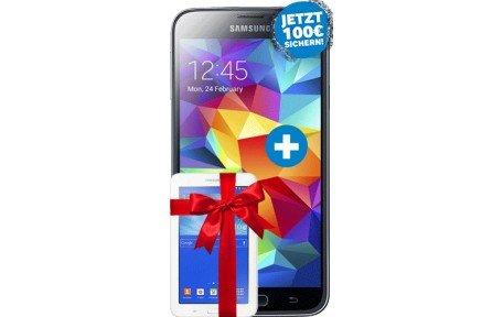 Handyflash-Otelo Allnet L 24,99€+Samsung Galaxy S5+Galaxy Tab 3 7.0 Wifi Zuzahlung 1?100€ Cashback Möglich