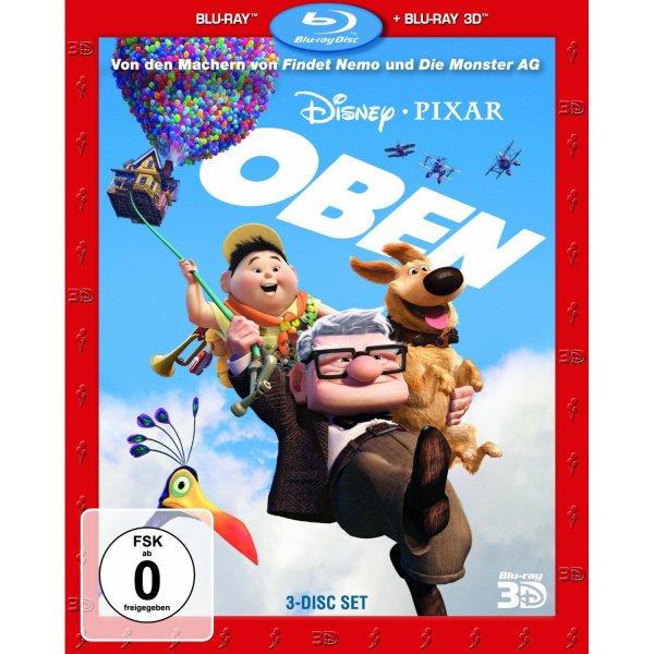 [Amazon Prime] Oben (+ Bonus-Disc + Blu-ray 2D) [Blu-ray 3D] für 14€