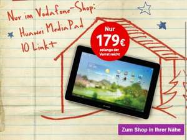 Huawei Media 10 Link+ LTE Tablet im Vodafone Shop