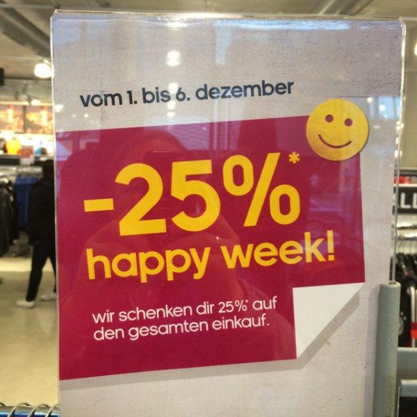 25 % Extra auf alles im Adidas Outlet Metzingen bis 6.12.