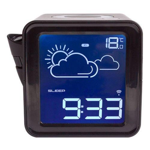 ebay Deltatecc: SEG One CH 116 Design Weckradio Projektion Wetteranzeige Funk UKW Radio